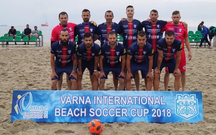 МФК Спартак заминава с 10 играчи за Шампионската лига по плажен футбол в Португалия