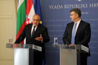 Мин.-председателят и хърватският му колега Андрей Пленкович