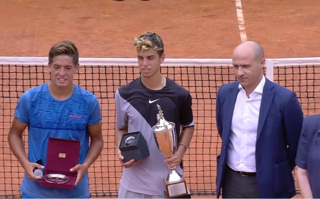 Голямата надежда на българския тенис Адриан Андреев спечели един от