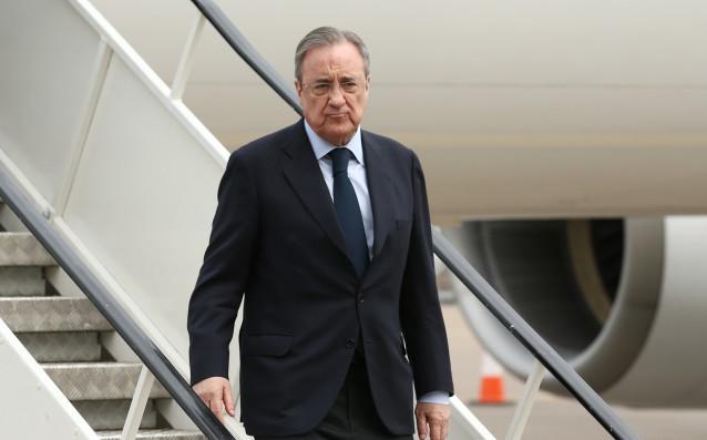 Президентът на Реал Мадрид Флорентино Перес разполага с 300 милиона