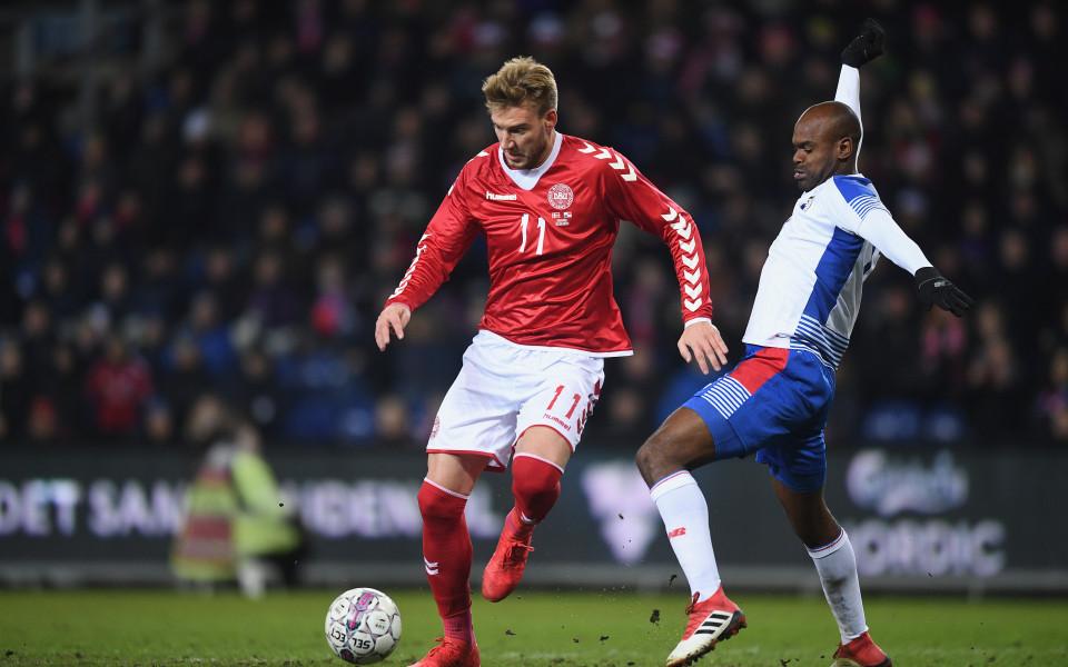 Бендтнер не може да вкара гол на тренировка на Копенхаген
