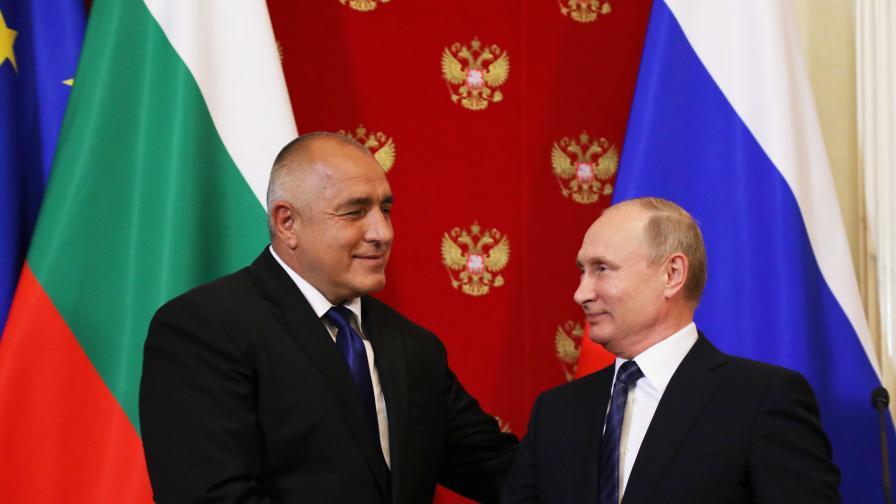 Руски медии за Борисов и Радев при Путин