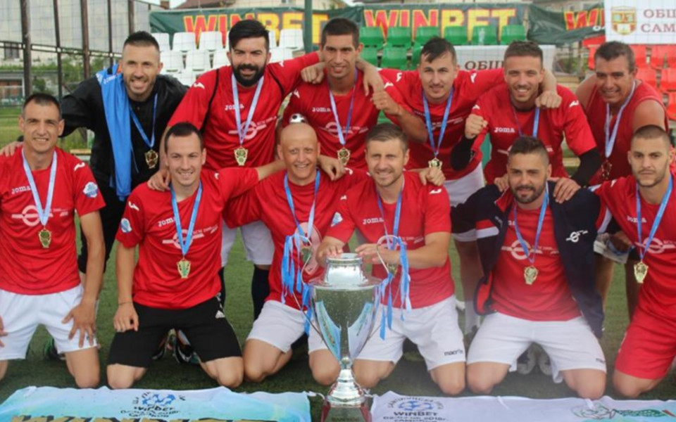 КЦМ 2000 Груп триумфира в Шампионската лига