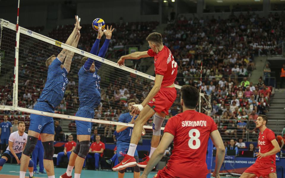 Само гейм за България срещу световния шампион