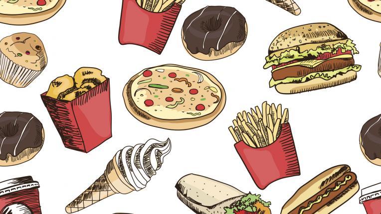 храна джънк фууд нездравословно