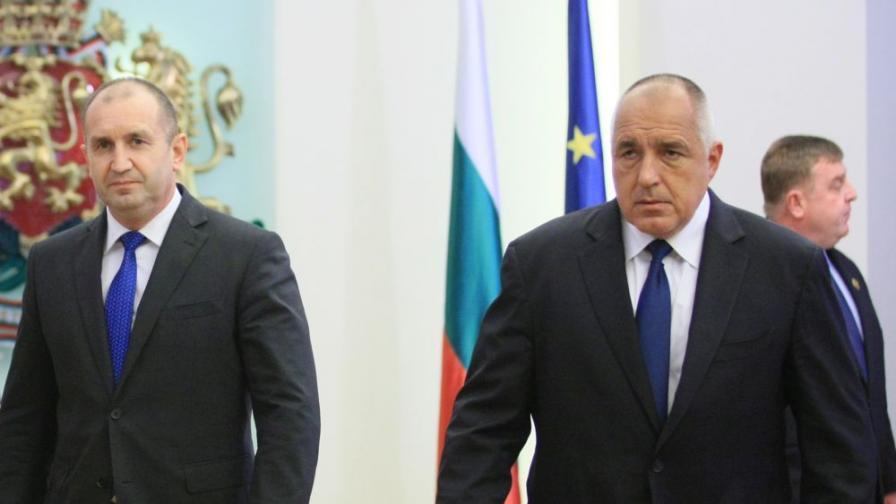 Пак престрелки президент-премиер: кой на кого е шеф