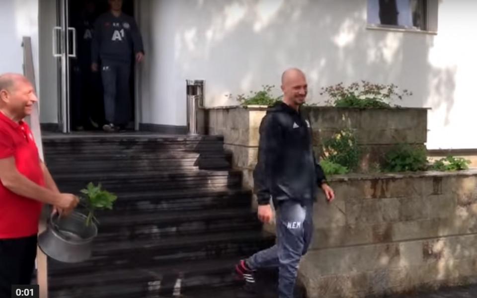 Ел Маестро изведе ЦСКА за първа тренировка