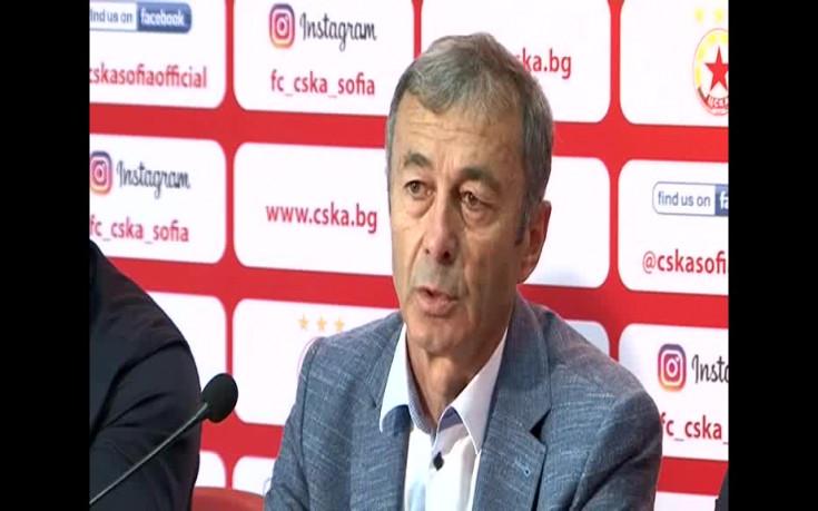 Пламен Марков за предстоящия сезон на ЦСКА