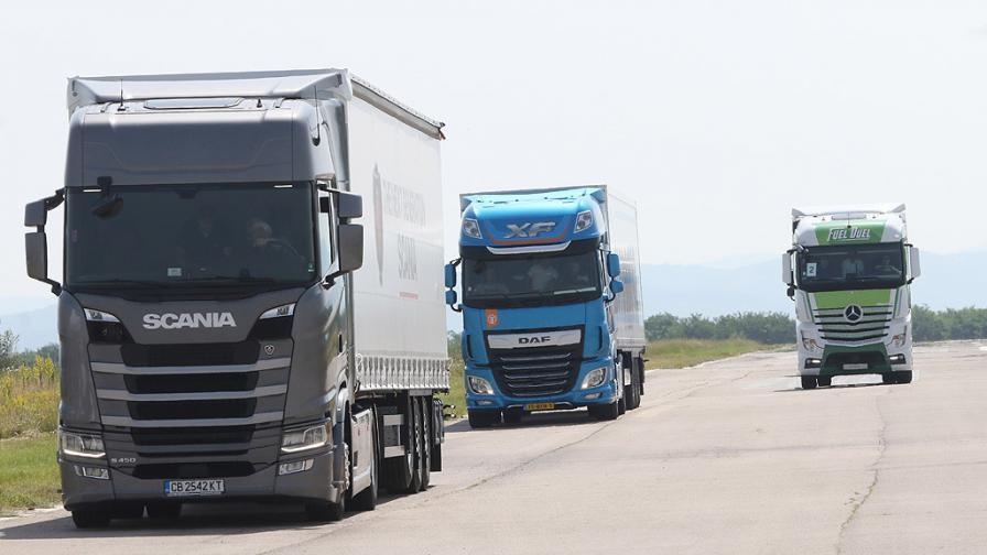 Хванаха български камион с нелегални имигранти в Гърция