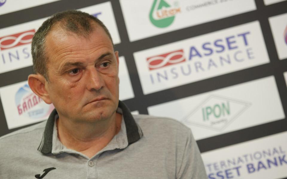 Загорчич: Заслужена победа за Хайдук, но аз съм оптимист