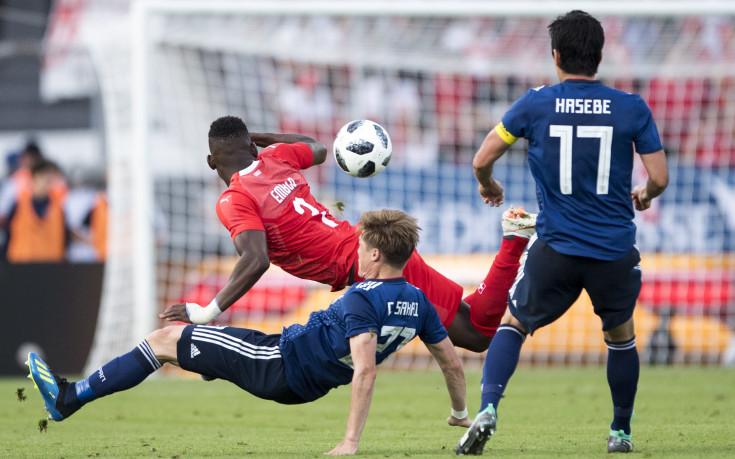 Швейцария удари Япония в навечерието на Мондиала