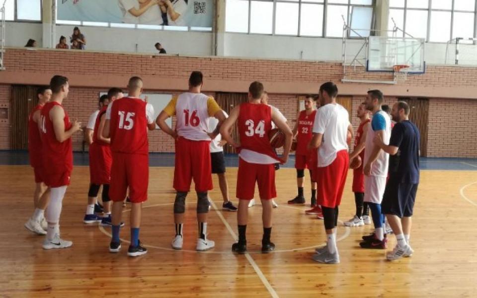 Баскетболистите продължават подготовка за световните квалификации