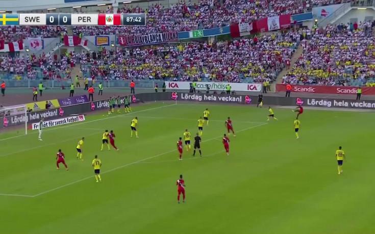 Швеция - Перу 0:0 /репортаж/