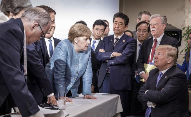 Ангела Меркел взриви социалните мрежи с тази снимка