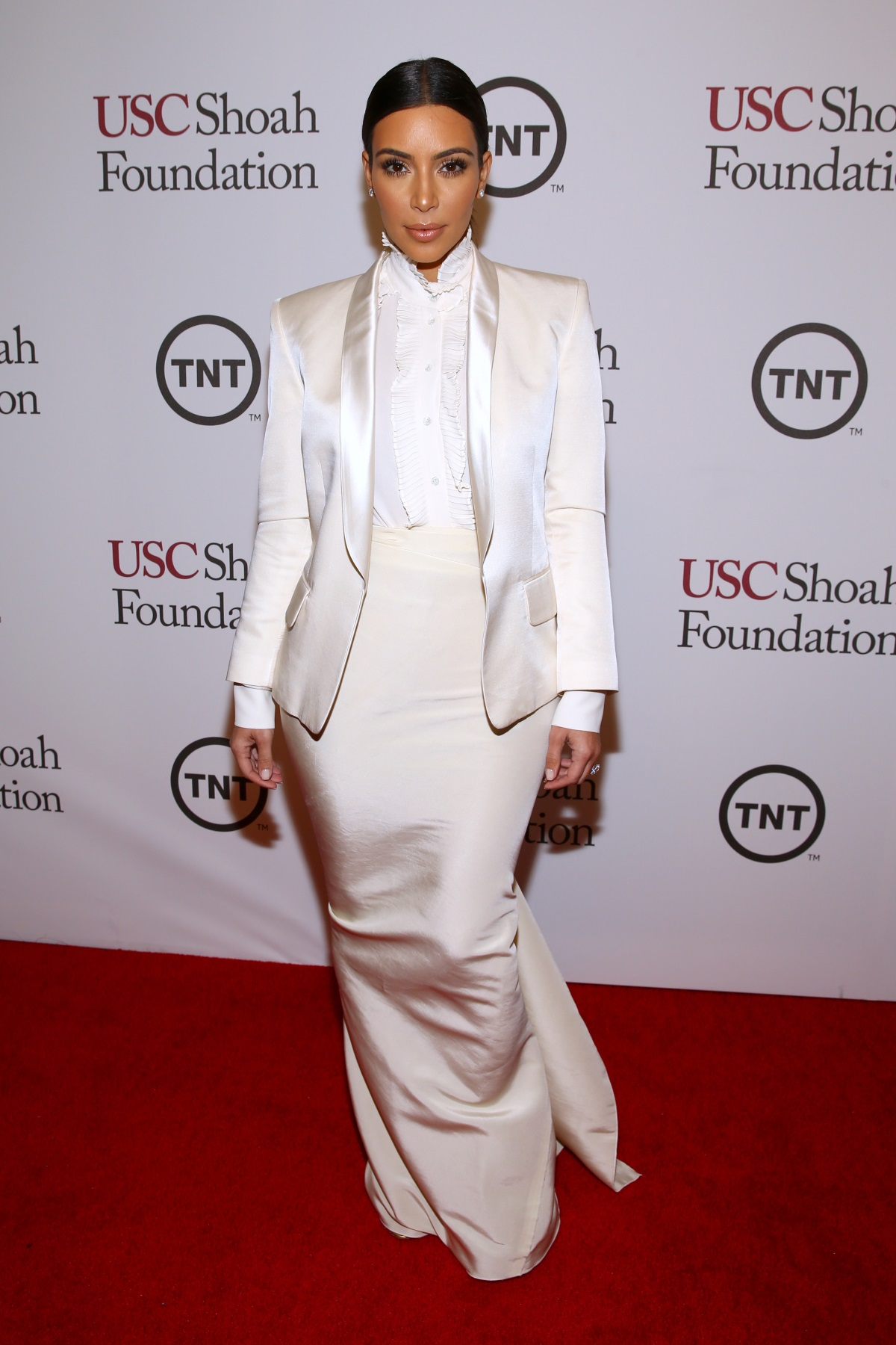 Ким Кардашиян е признавала, че веднъж изкуственият ѝ тен се е разтекал, докато кърмела дъщеря си Норт Уест.