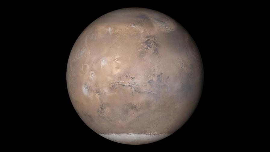 Марс има странни магнитни пулсации от древни скали
