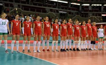 Волейболистките завършиха наравно с Азербайджан