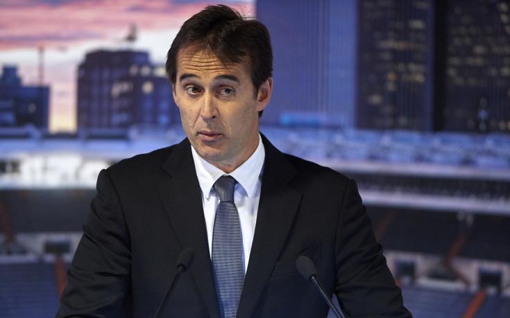 Реал Мадрид представи официално Жулен Лопетеги