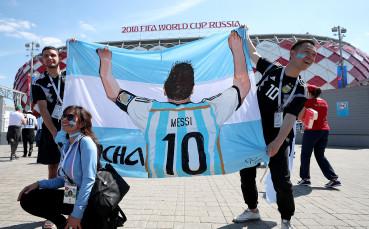 В Аржентина започна кампания за оставането на Меси в националния отбор