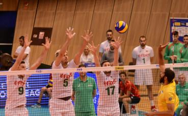 И Бразилия се подчини на българските волейболисти