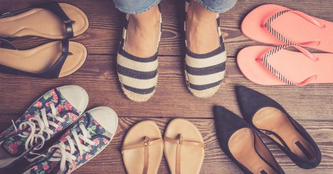 Най-голямата страст на жените са обувките! На ток, равни, спортни,