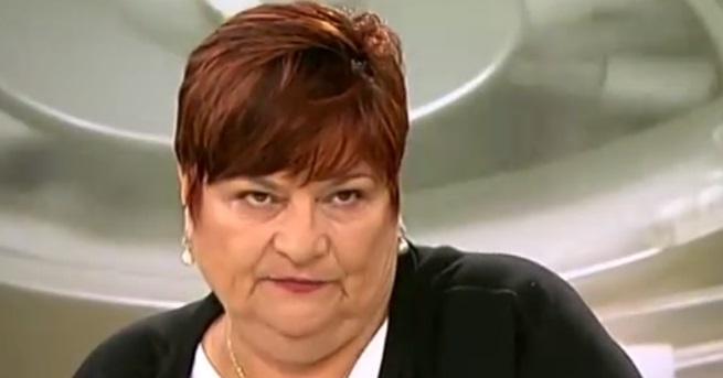 """Шефът на агенция """"Медицински одит"""" проф. Златица Петрова, която беше"""