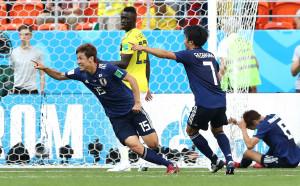 Колумбия си направи ритуално харакири срещу Япония