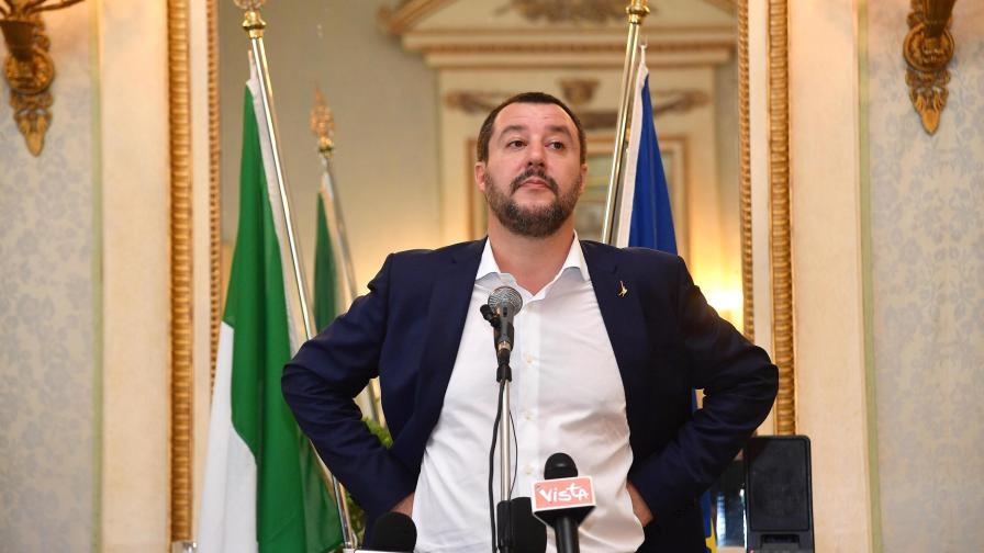 Италианският вицепремиер Матео Салвини