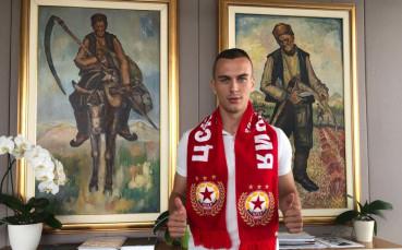 Секулич: Ще играя с цялото си сърце за ЦСКА