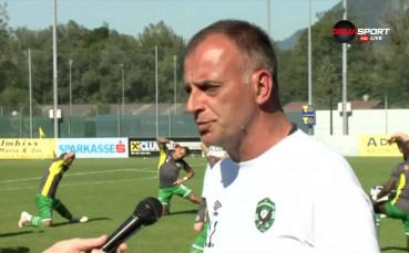 Тони Здравков: Засега всичко върви по план по най-добрия начин