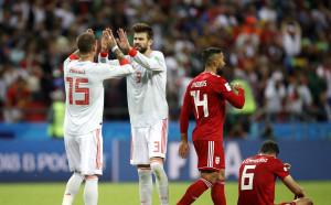 Късметлийска победа за Испания срещу Иран