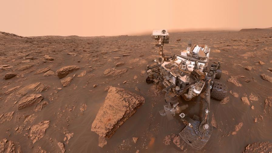 Curiosity измери гравитацията на Марс за пръв път