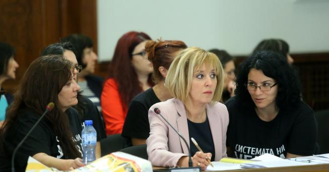 Омбудсманът Мая Манолова заяви готовност да подаде оставка в замяна