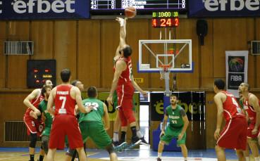 България загуби втората контрола с Тунис