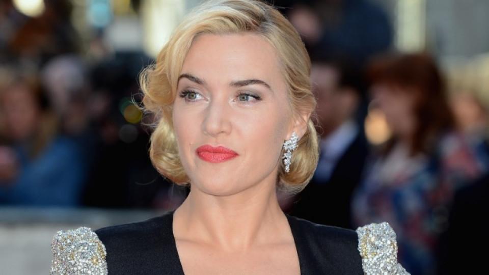"""Кейт Уинслет на лондонската премиера на 3D версията на """"Титаник"""", състояла се в края на март тази година"""