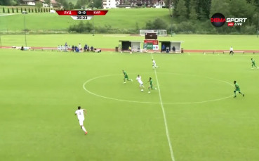 Лудогорец - Карабах 1:0 /първо полувреме/