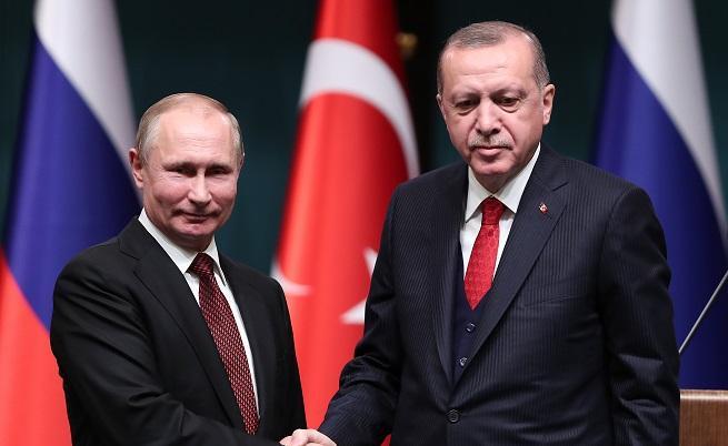 Путин първи поздрави Ердоган за победата на изборите