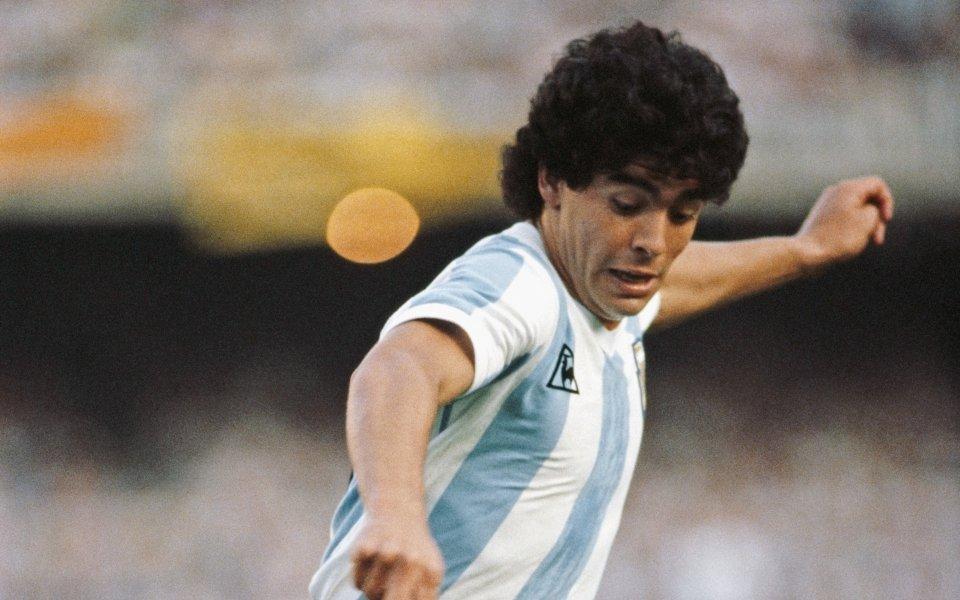 Диего Марадона на 58 години