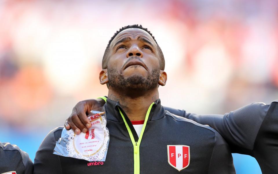 Нападателят на Перу Джеферсон Фарфан ще пропусне оставащите мачове на