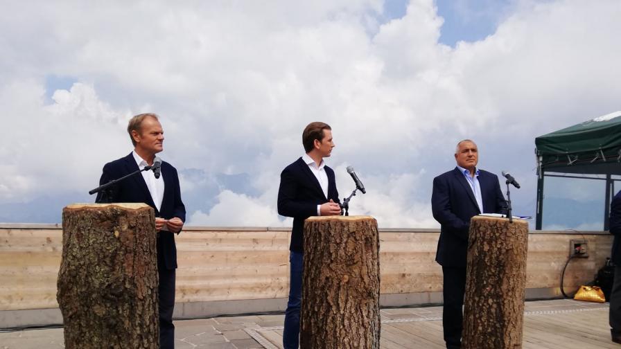 Борисов към Курц в Австрия: Ако има нужда сме насреща