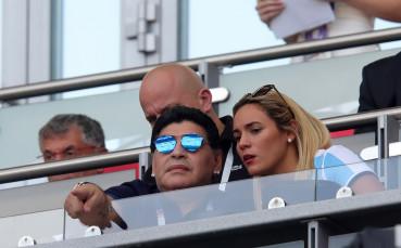 Марадона си прибира обратно имение от ексгадже