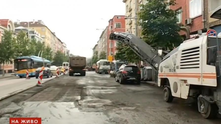Още ремонти и тапи в София