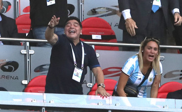 Марадона влезе в новата си роля