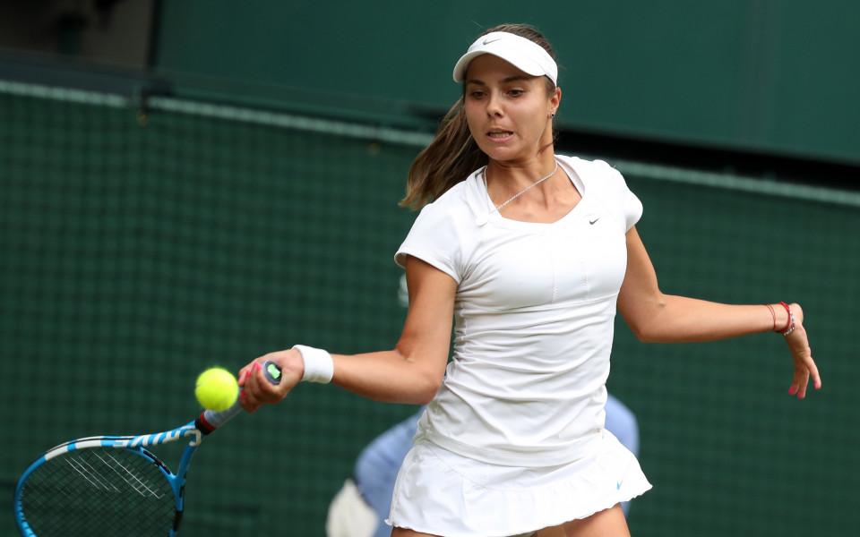 И Виктория Томова отпадна от US Open