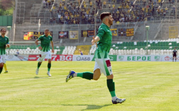 Бероец над всички за Гол на 30-ия кръг в Първа лига