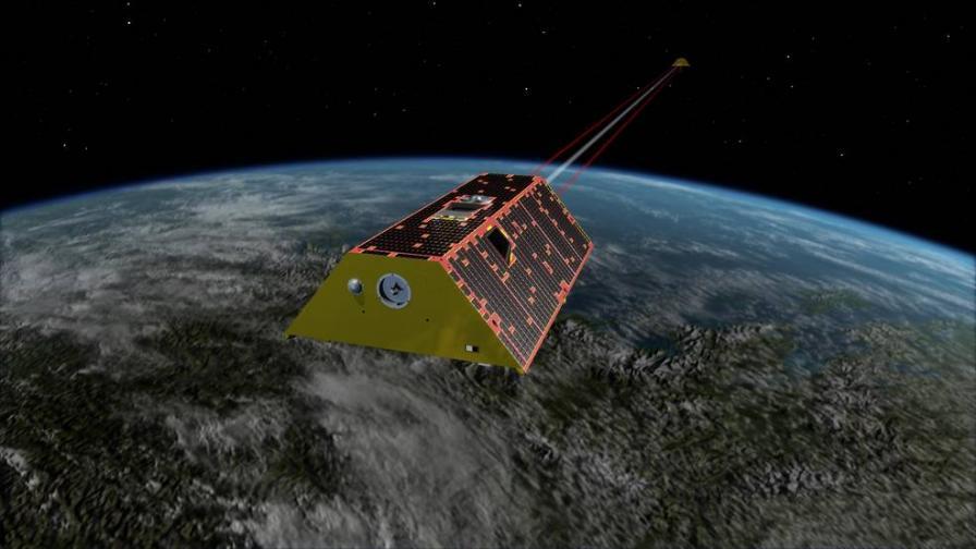 Сателитът от мисията GRACE-FO