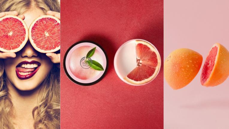 Празник за кожата с розов грейпфрут