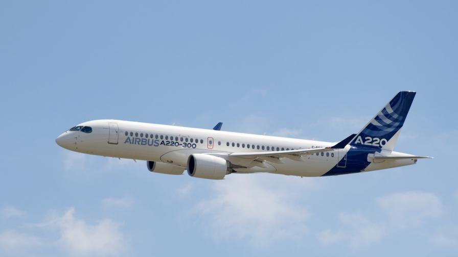 Airbus представи новата фамилия самолети A220