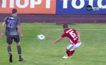 ЦСКА - ФК Рига 0:0 / първо полувреме /