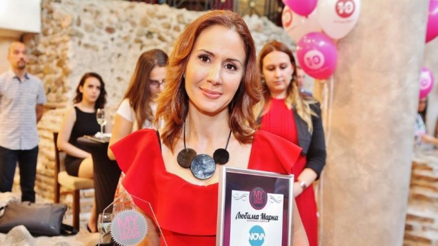 За поредна година NOVA е любима телевизионна марка на българите